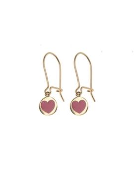 Χρυσά σκουλαρίκια καρδούλα