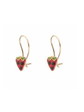 Σκουλαρίκι φράουλα