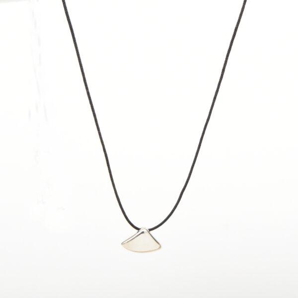 Small silver triangle