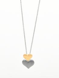 Double love pendant