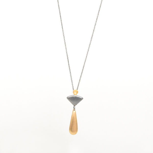 Drop and triangle pendant
