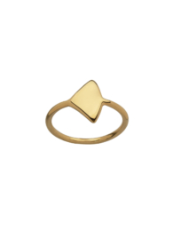 Gold plated triangle